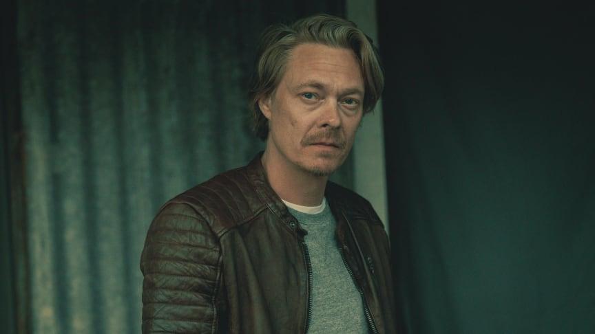 Kristoffer Joner er klar for action i den nye Viaplay Original-serien «Maskineriet» (foto: Anders Nicander)