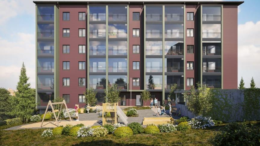 Kiinteistö Oy Keravan Terhikintie 1 -kohteeseen tulee 102 Varman vuokra-asuntoa