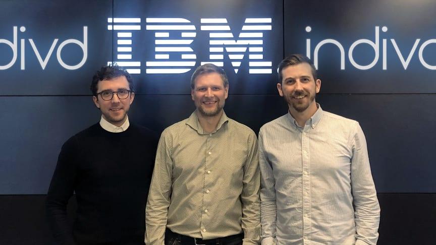 Fredrik Hammargården - Indivd, Martin Rydén - IBM Sverige och Victor Molén - Indivd