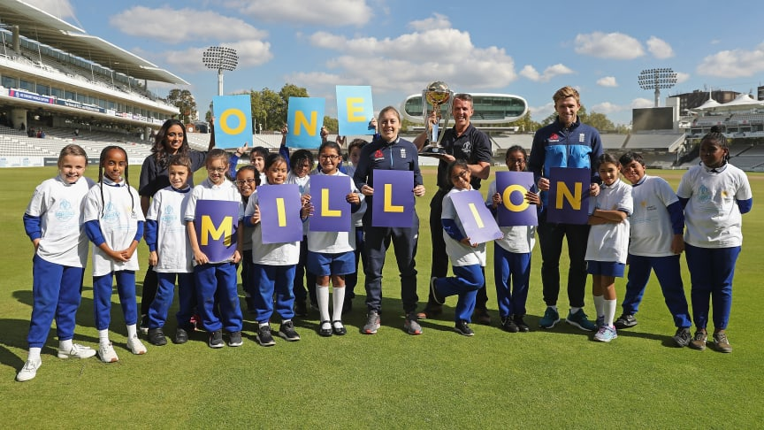 ECB and ICC Cricket World Cup 2019 aim to take cricket to 1 million children