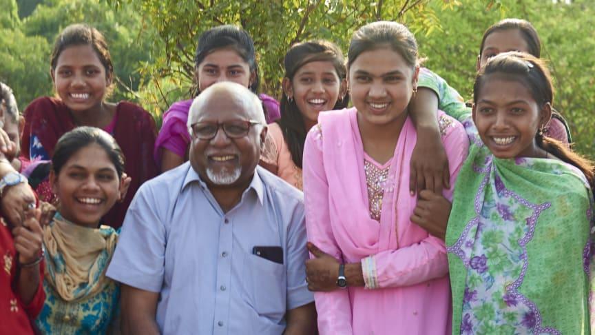 Barn i Saltsjö-Boo möter indisk hjälte som kämpar emot barnäktenskap