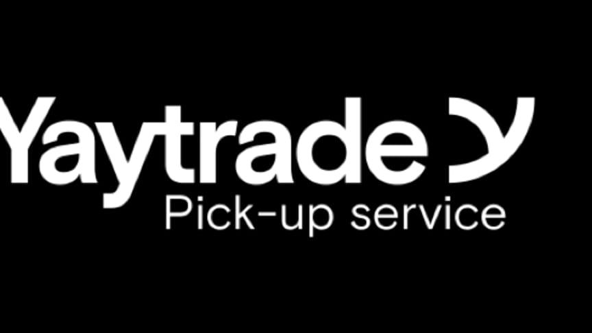 Yaytrade lanserar nu sin pick-up service tjänst i Sverige riktad till privatpersoner.