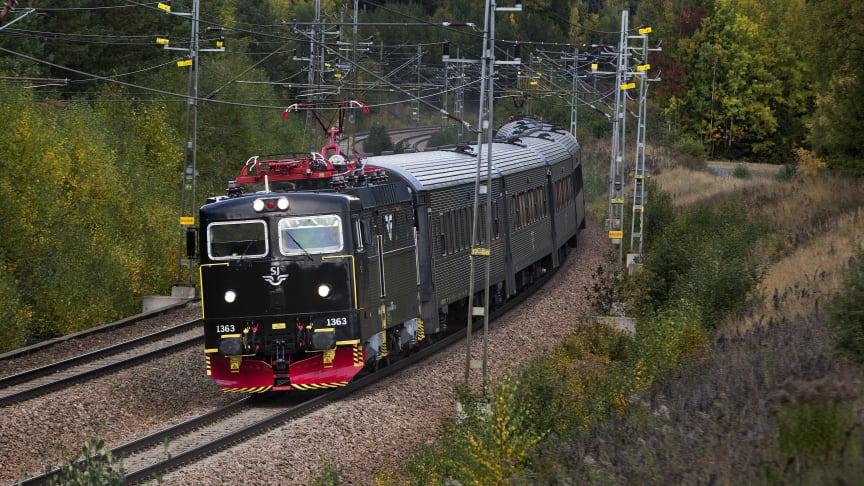SJ ökar sin kapacitet inför matchen mellan Norrköping och Djurgården i Allsvenskan. Foto: Stefan Nilsson
