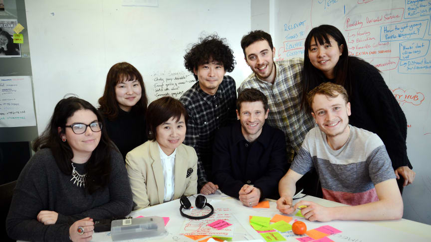 Northumbria's innovative students and staff in Japanese collaboration
