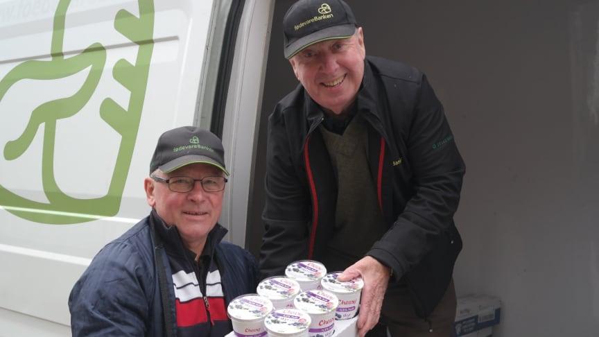Ole og Poul Erik er frivillige i FødevareBanken i København