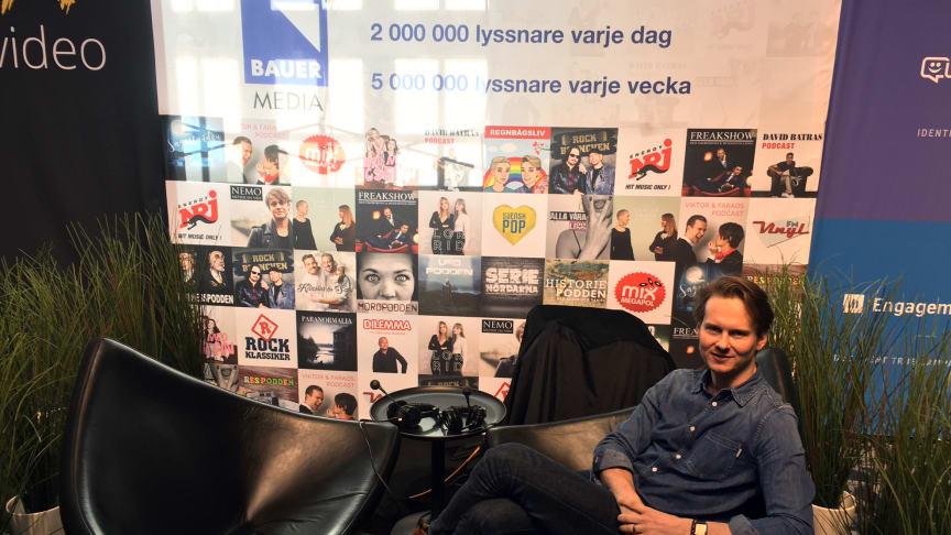Programledaren för The NextM Podcast är Martin Hugosson, VD på Maxus.