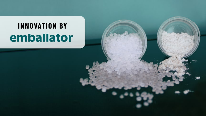 Från avfall till produkt – test av mikrofibermaterial på Emballator Innovation Center