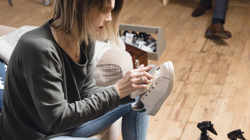 Håll dina sneakers fräscha längre med skovård