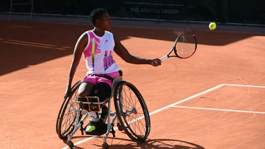 Tennis Paralympian Kgothatso Montjane named Discovery Vitality Ambassador