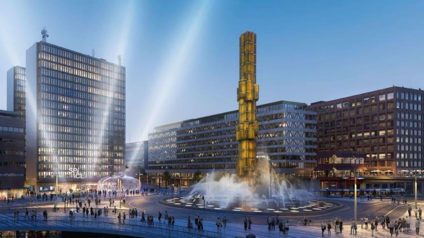 Space öppnar världens största gamingcenter med över 400 spelstationer på sju våningsplan vid Sergels torg i Stockholm.