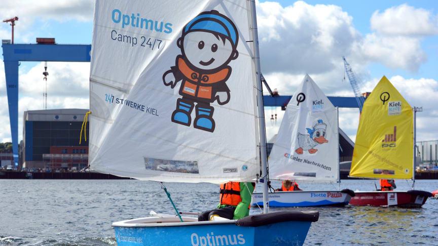 Die neue Saison vom Camp 24/7 startet am 09. Mai und bringt Segelspaß an die Kieler Förde.