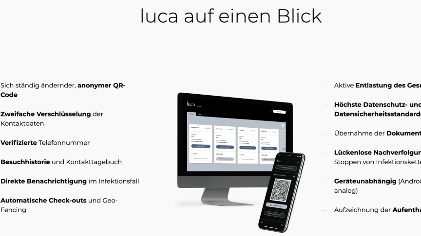 """Die """"luca""""-App"""