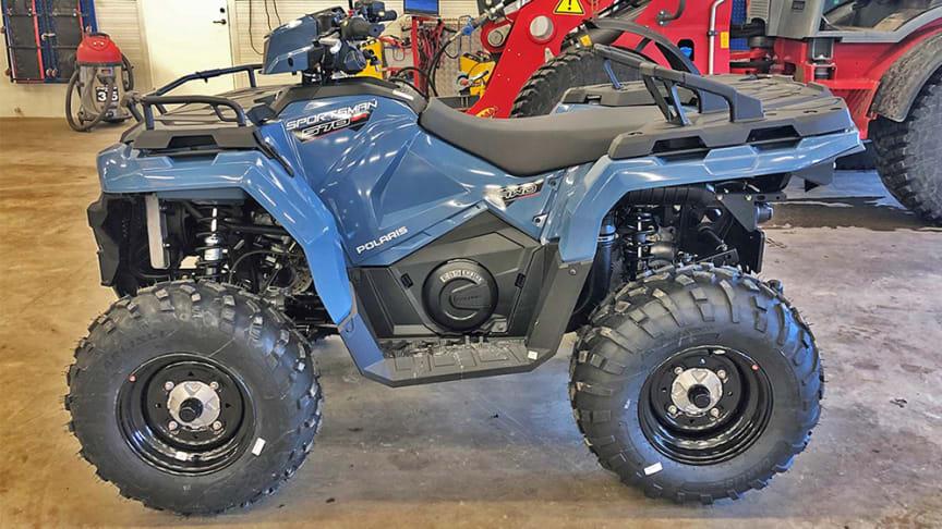Opus Bilprovning besiktar traktor-b-registrerade fyrhjulingar.