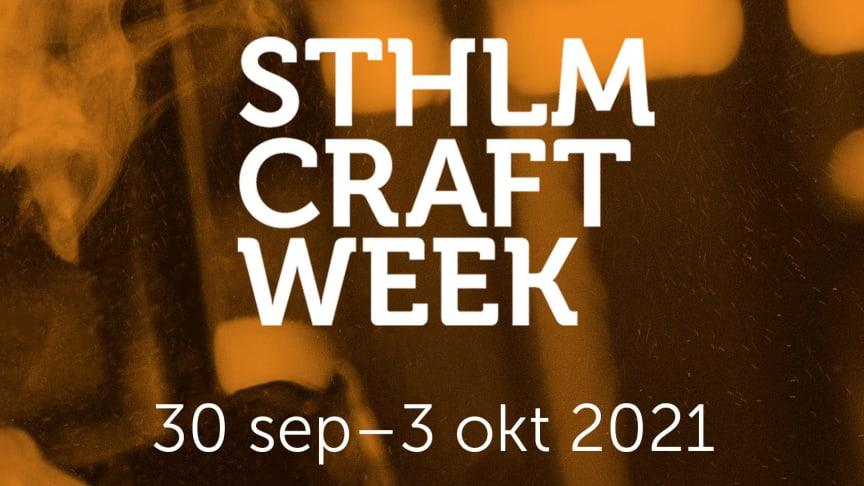 Svensk Form blir ny medarrangör av Stockholm Craft Week