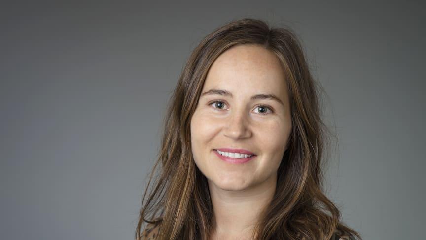 Jennie Brandén, doktorand i Statsvetenskap, knuten till Genusforskarskolan vid Umeå universitet. Foto: Mattias Pettersson