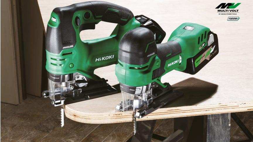 Nye MULTI VOLT 36V batteristikksager med suveren hastighet, ergonomi og manøvreringsevne.