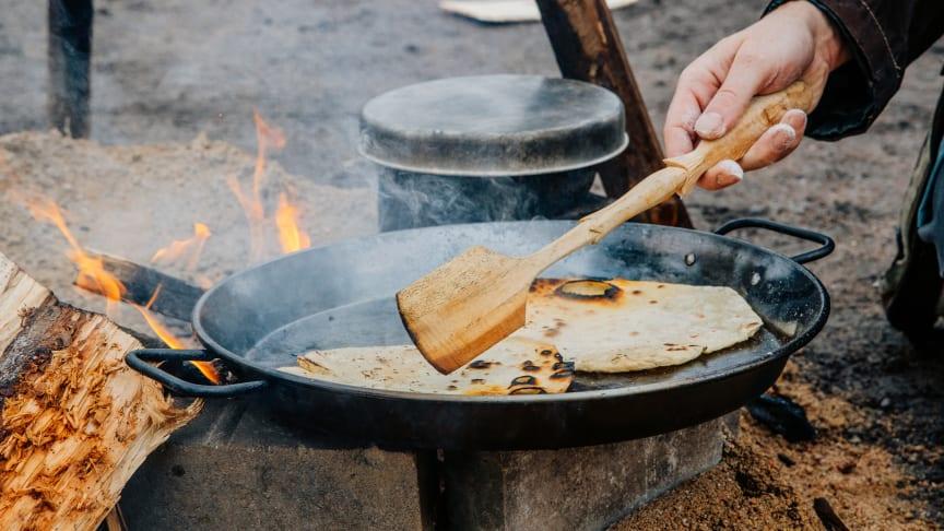 Den 12 september är det återigen dags för deltävling till SM i utomhusmatlagning på Kinnekulle. Foto: Erik Elvmarker.