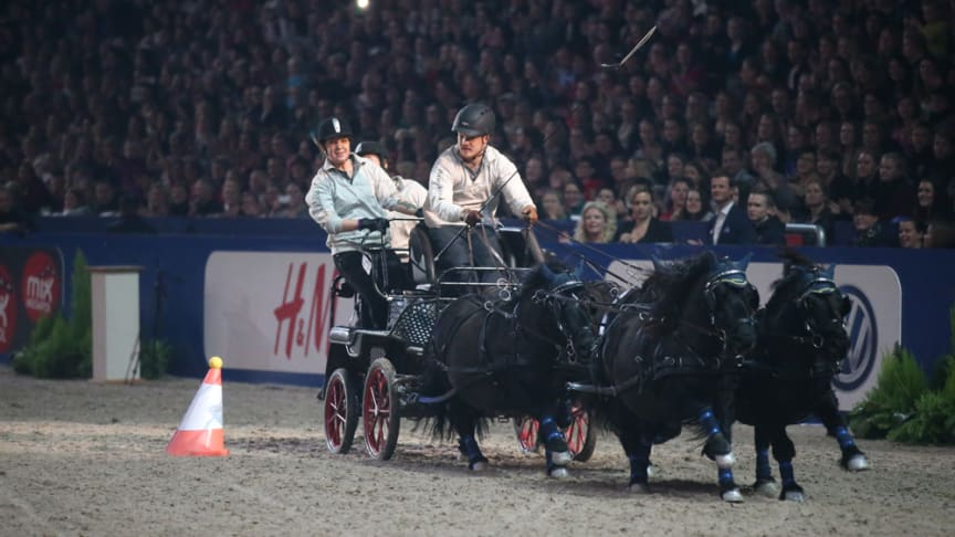 Ponnyexpressen kör mot Aachen