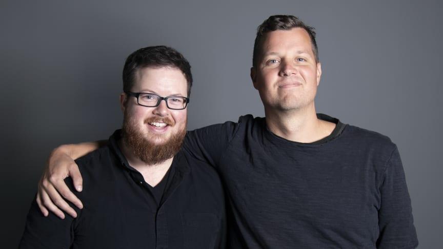 United Screens Music: Erik Gossas, Operativ Chef (vänster) och Georg Herlitz, VD (höger)