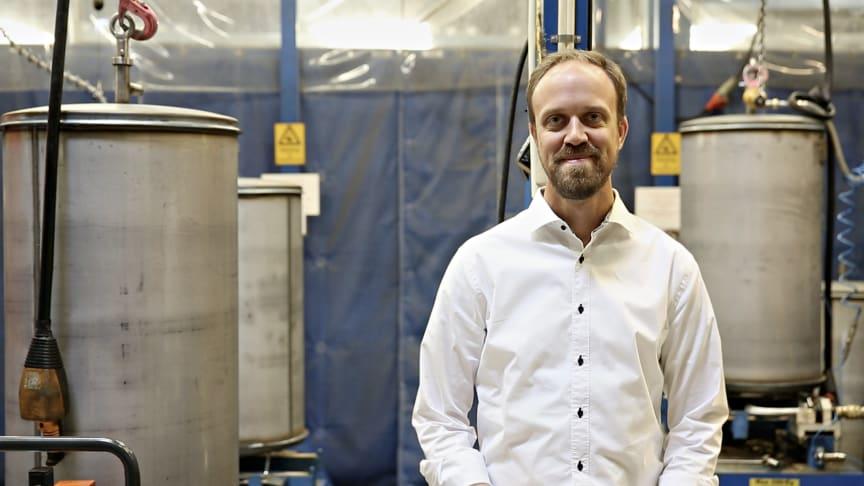 – Smart teknik kopplat till värmepumpen är ett måste i framtiden. Kunden förväntar sig att ha full koll på sin investering, via mobilen eller plattan, säger Joachim Carlsson.