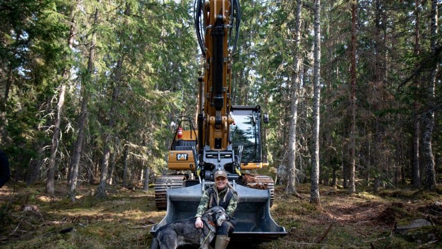 Cat-maskin på jaktmarker i ny film
