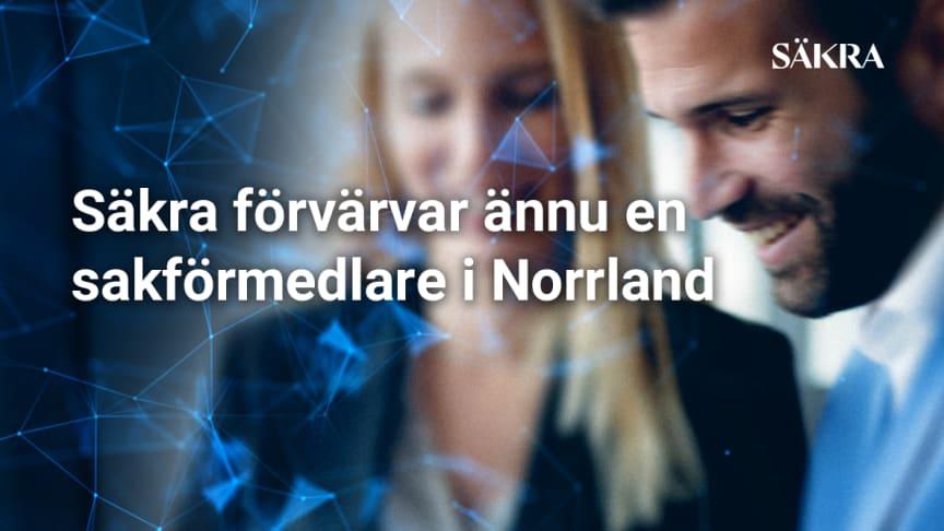 Säkra förvärvar ännu en sakförmedlare i Norrland