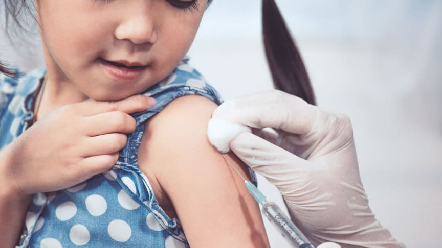 Barnvaccinationsprogrammet fungerar bra trots pandemin
