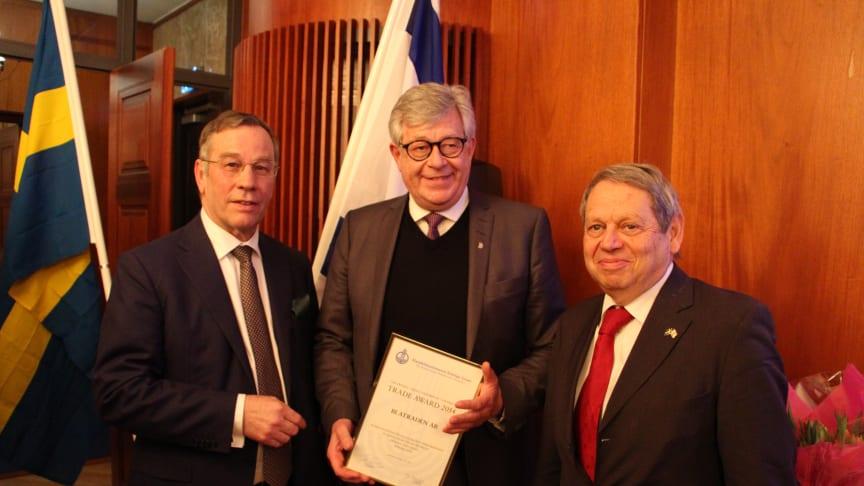 """""""Trade award"""" tilldelades svenska Blatraden AB från Piteå"""