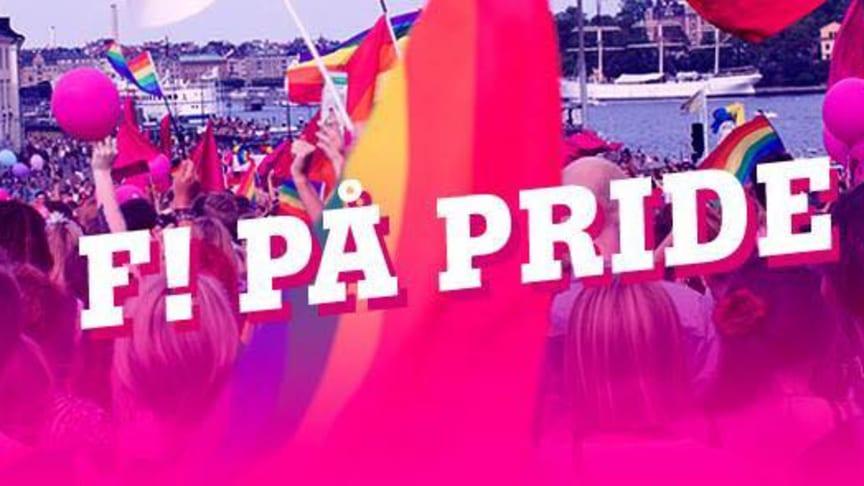 Feministiskt initiativ utmanar heteronormen på Stockholm Pride