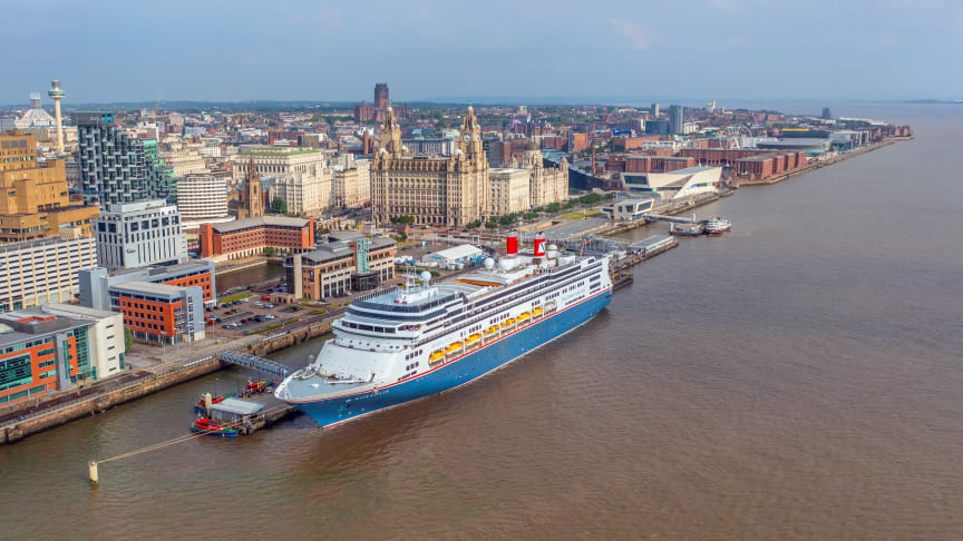 Borealis completes inaugural sailing with Fred. Olsen Cruise Lines as she prepares for rest of 'Welcome Back' programme from Liverpool