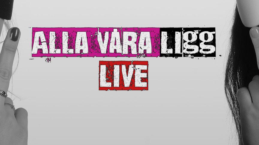 """Linnea och Saga visar vilka de är när podcasten """"Alla våra Ligg"""" går live"""
