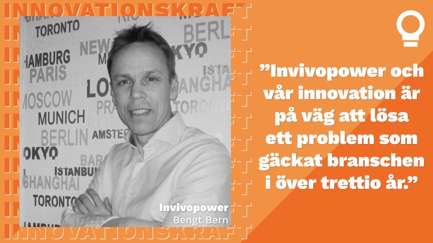 Invivopower finalist i Innovationskraft