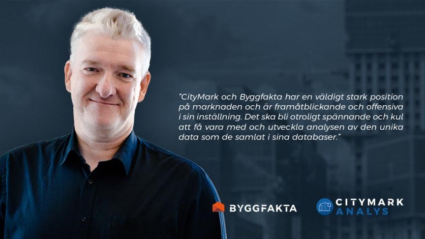 Tor Borg ny analyschef för CityMark Analys och Byggfakta