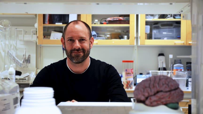 Christian Broberger, professor i neurokemi vid Institutionen för biokemi och biofysik, Stockholms universitet. Foto: Mika Neitz Pettersson