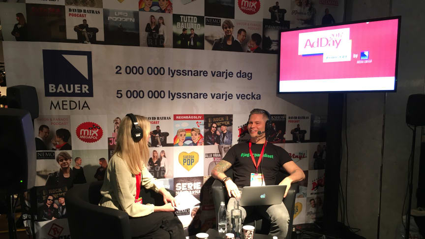 Louise Petterson i samtal med Johannes Cullberg, VD för Paradiset