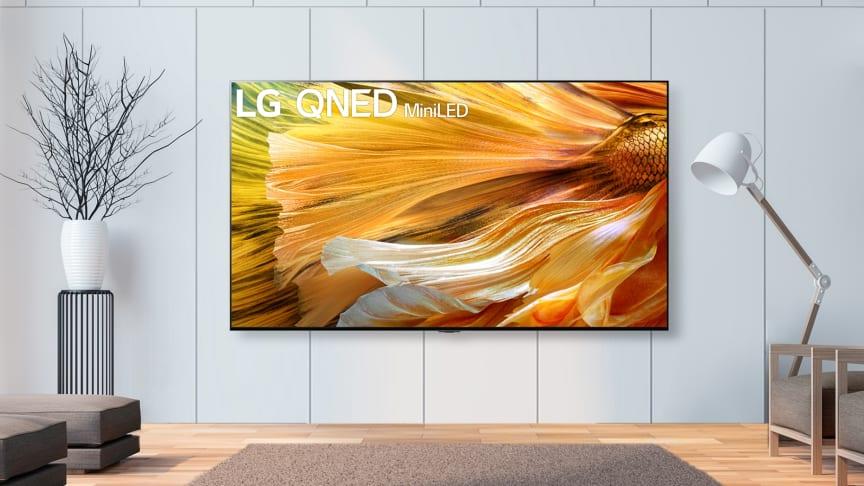 LG begynder udrulningen af LG QNED Mini LED-TV