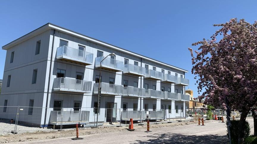 HSB satsar på ett modernt ungdomsboende alldeles intill gamla Läkerolfabriken i Gävle.