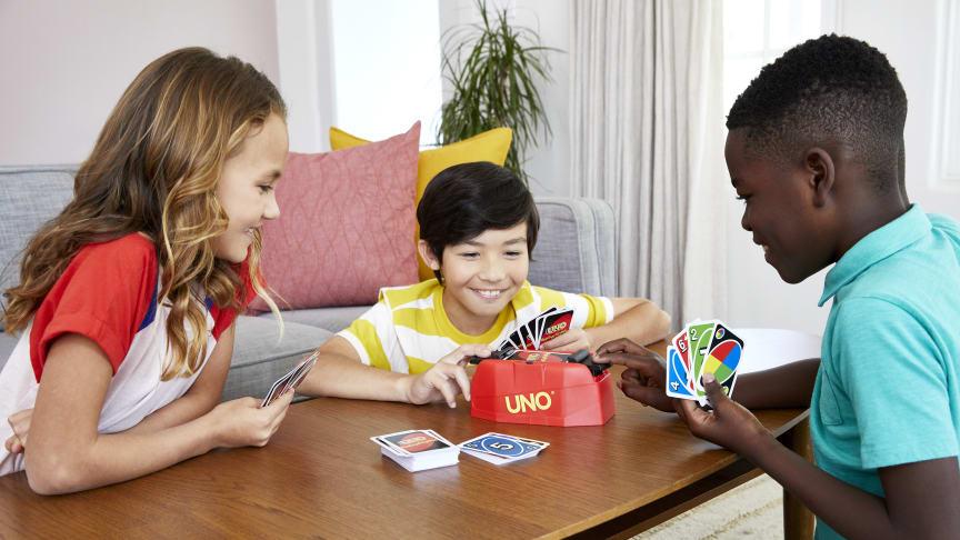 Spieleklassiker wie UNO erscheinen in neuer Form