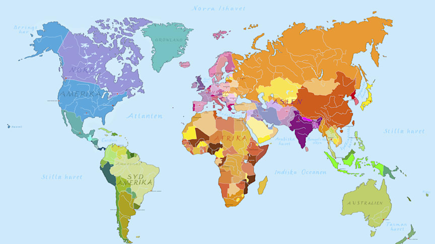 Akustiskt världskarta