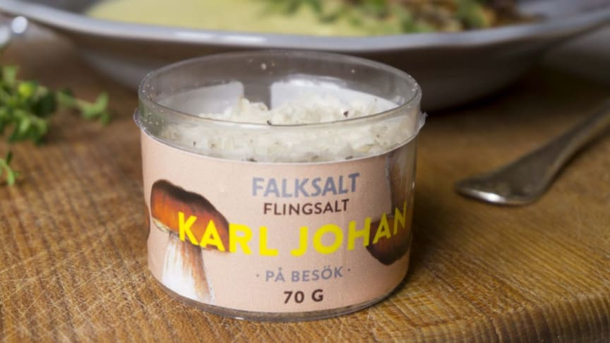 Hurra för Falksalt – firar 90 år med nytt smaksatt flingsalt!