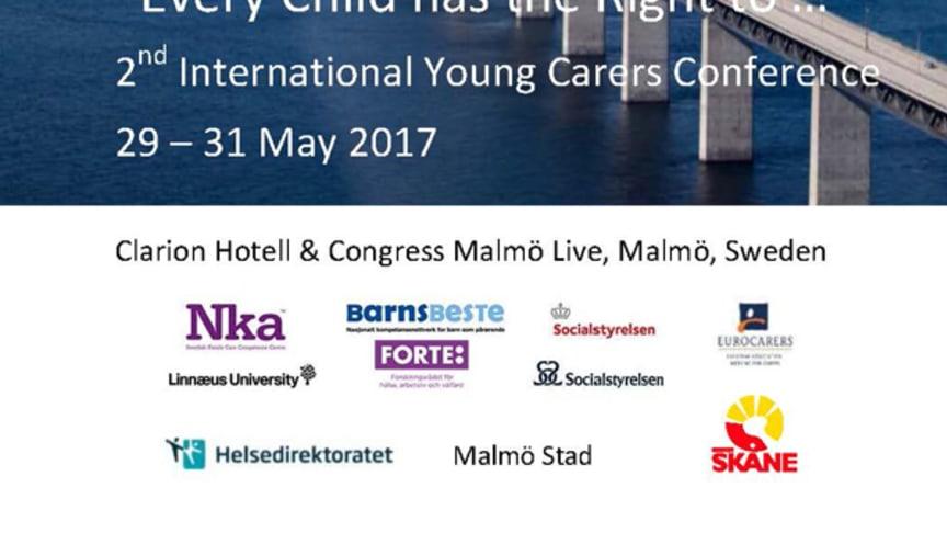 Konferensprogrammet till 2nd International Young Carers Conference klart