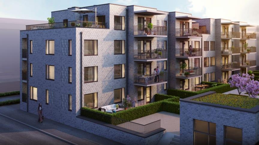 I Västra Munktellstaden i Eskilstuna växer en ny spännande stadsdel fram vid forsande vattendrag, broar och holmar. Här planerar Riksbyggen för 48 nya bostadsrätter i Brf Lokomotivet.