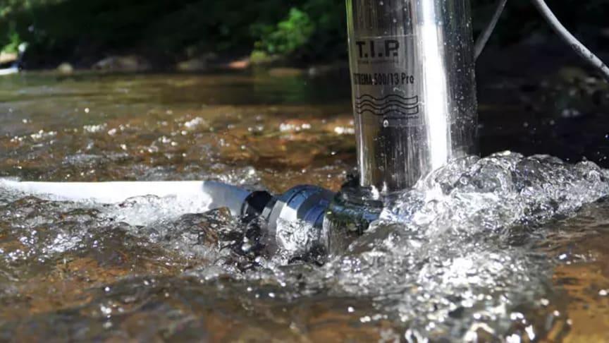 Robusta pumpar från T.I.P. som i kontinuerlig drift pumpar även kraftigt förorenade vätskor
