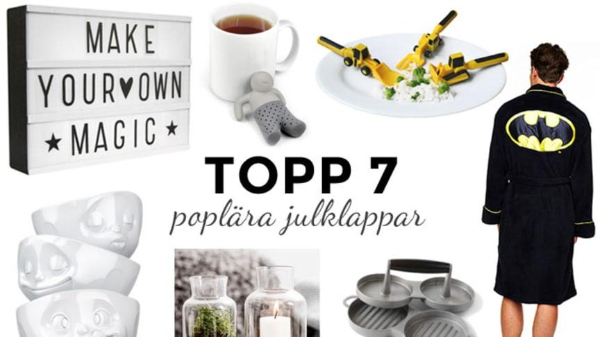 Årets 7 mest populära julklappar