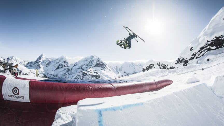 Landing Bag im SKYLINE SNOWPARK