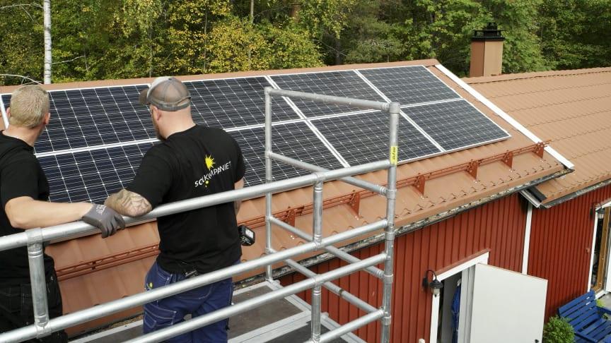 Stort intresse för solceller i Umeåregionen