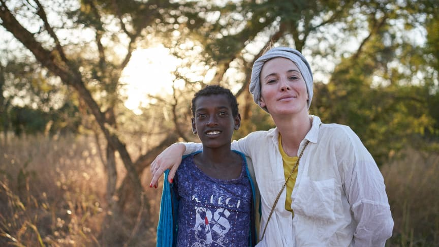 Jeannine Michaelsen mit Viva con Agua in Äthiopien