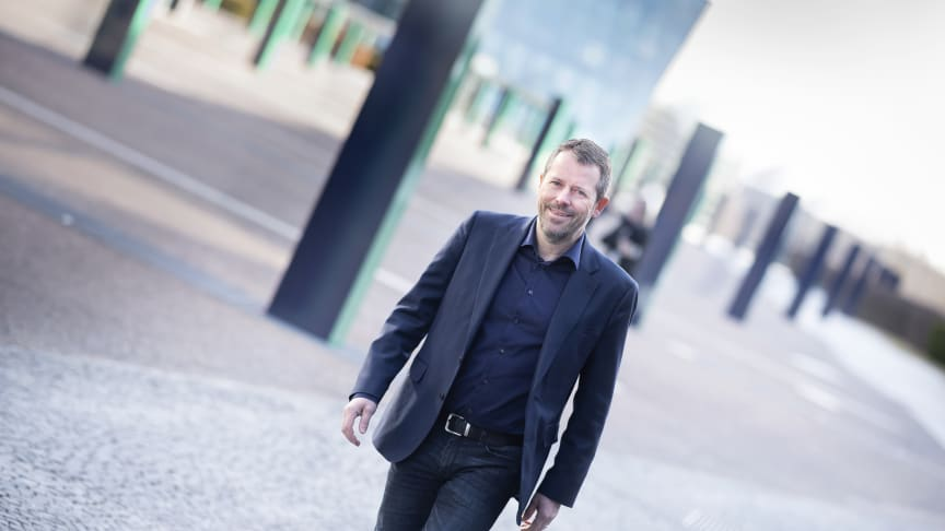 Rick Brown er den nye sjefen for Telenors mobildivisjon. Foto: Martin Fjellanger