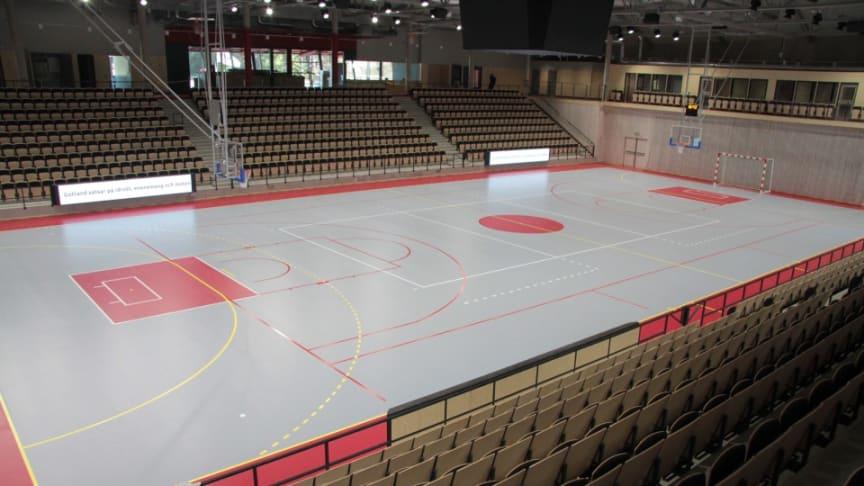 Unisport levererar helhetskoncept till Sporthall Visborg