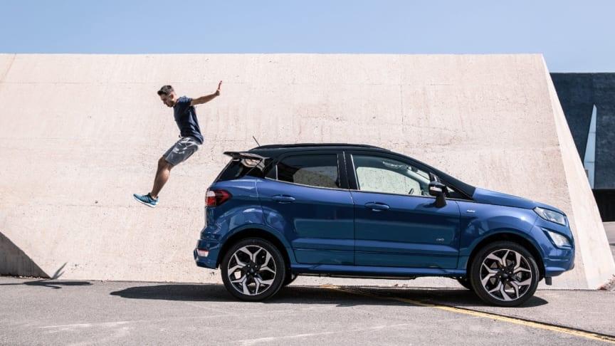 Ford EcoSport med supermateriale inspirert av honningbier